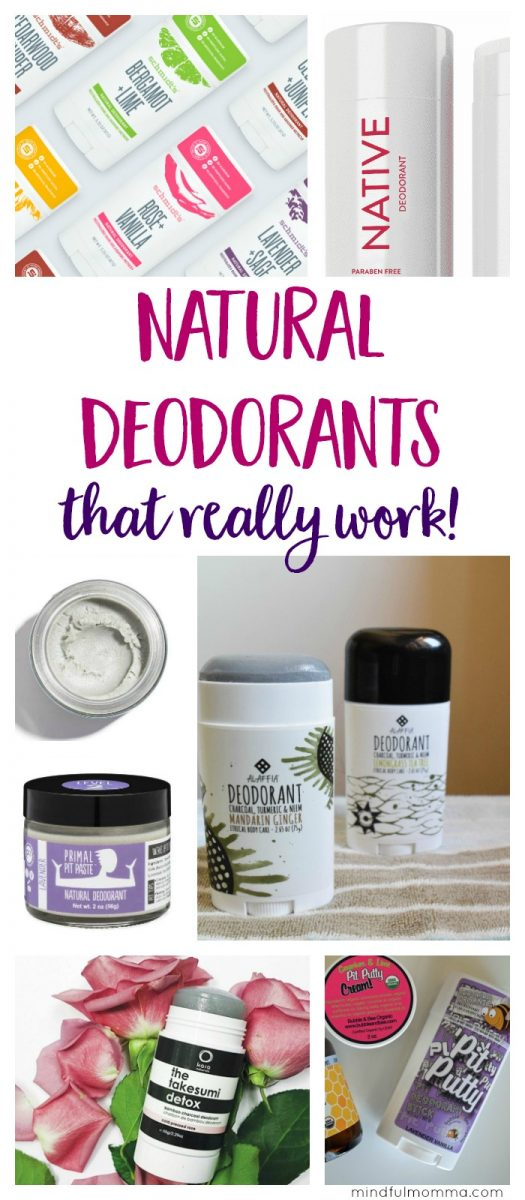 Learn the differences between popular natural deodorant brands - so you can find the natural deodorant that works best for your needs. | non-toxic deodorant | natural beauty | #nontoxic #natural