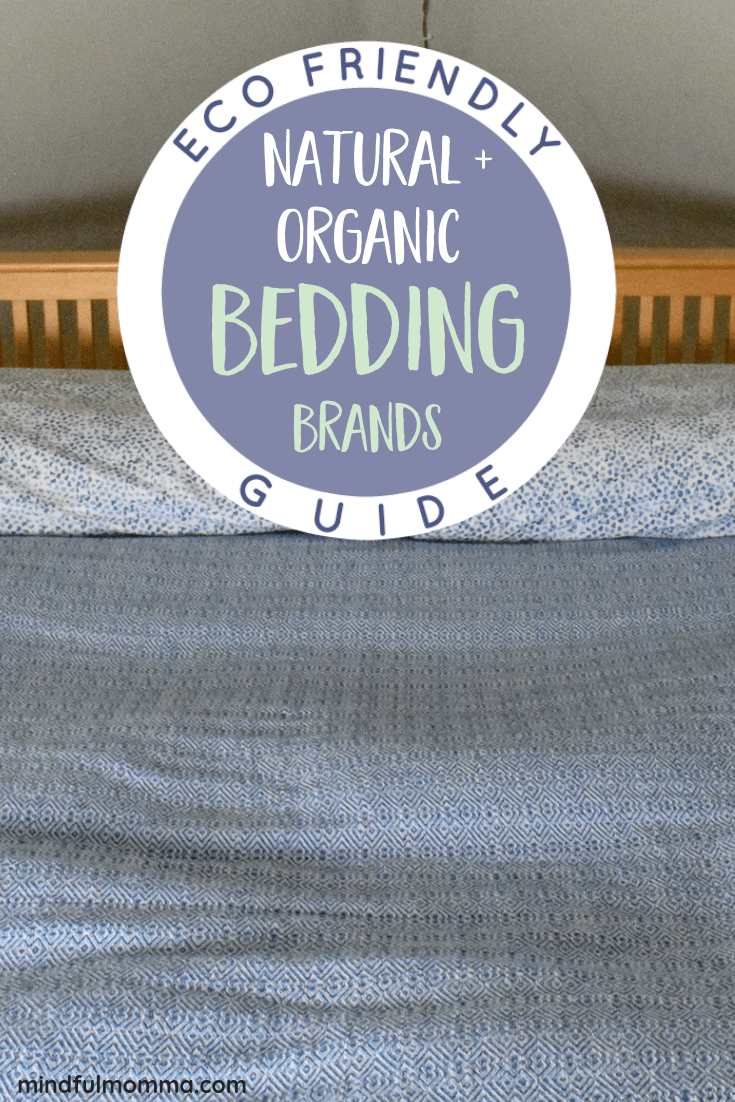 Top rated natural and organic bedding brands including bamboo and organic cotton sheets, pillowcases and duvet covers - for a non-toxic, eco-friendly bedroom and a healthy night's sleep. | #organic #bamboo #healthyliving #bedsheets #organiccotton #ecofriendly #sustainable