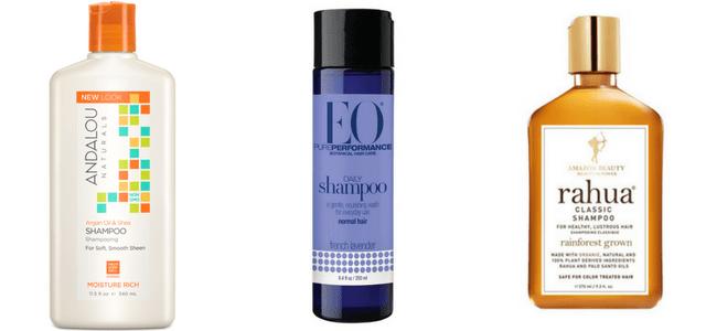 Non-Toxic Shampoo: Andalou Naturals, EO Products, Rahua