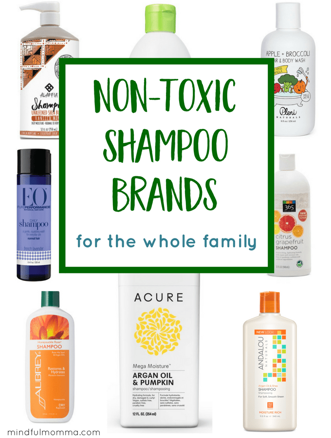 Non-toxic Shampoo Brands for Everyone in the Family