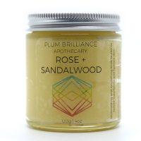 Rose + Sandalwood Natural Body Butter
