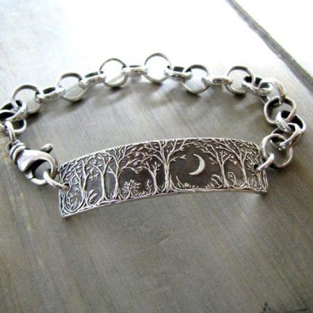 Recycled Silver Bracelet