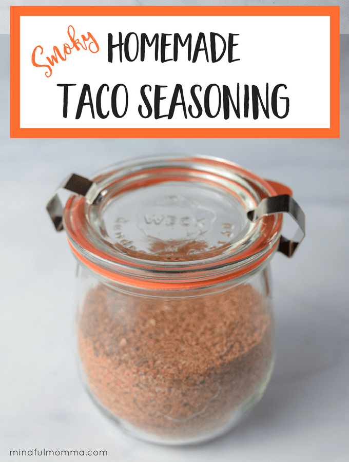 Smoky Homemade Taco Seasoning