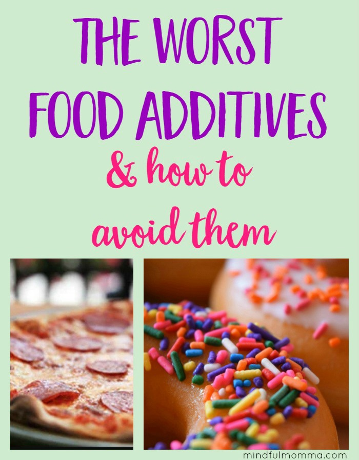 The worst food additives, according to the EWG's Dirty Dozen list. What types of foods you'll find them in, how to avoid them and some better alternatives.