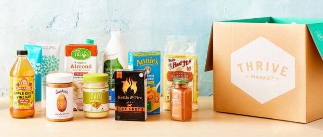 Thrive Market product assortment