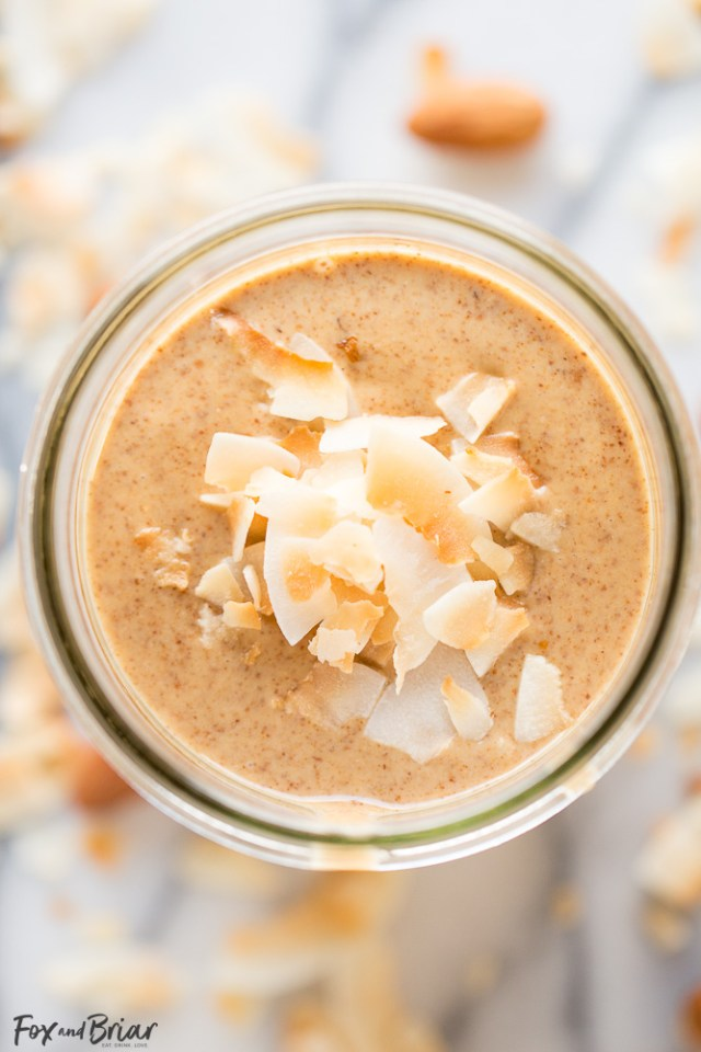 Toasted Coconut Almond Butter by Fox and Briar