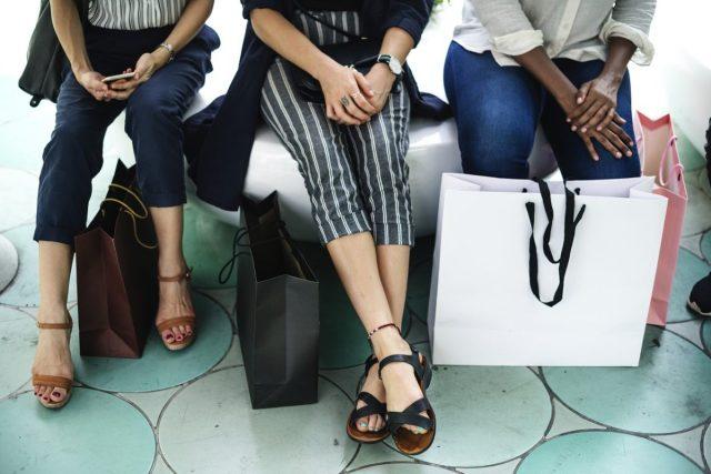 Women-shopping bags