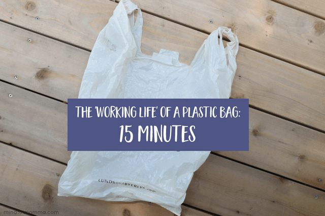 Working Life of a Plastic Bag - How to Reduce Plastic Use
