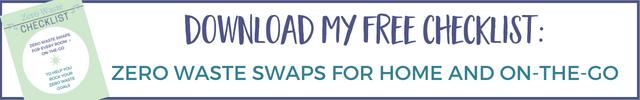Zero Waste checklist free download