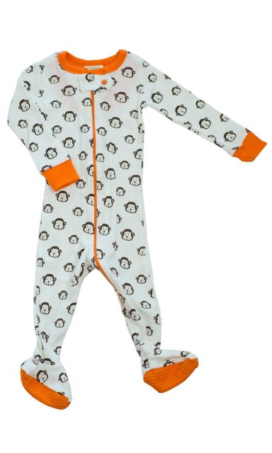 Organic cotton footed onesie eco-friendly gifts for kids