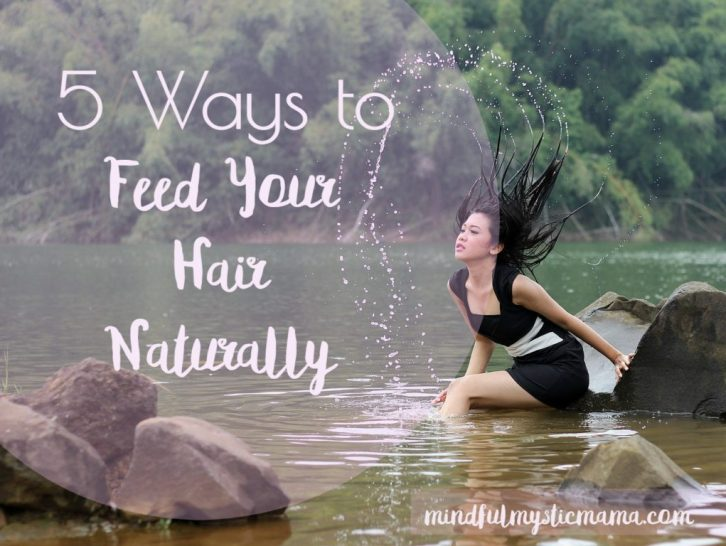 feed hair naturally