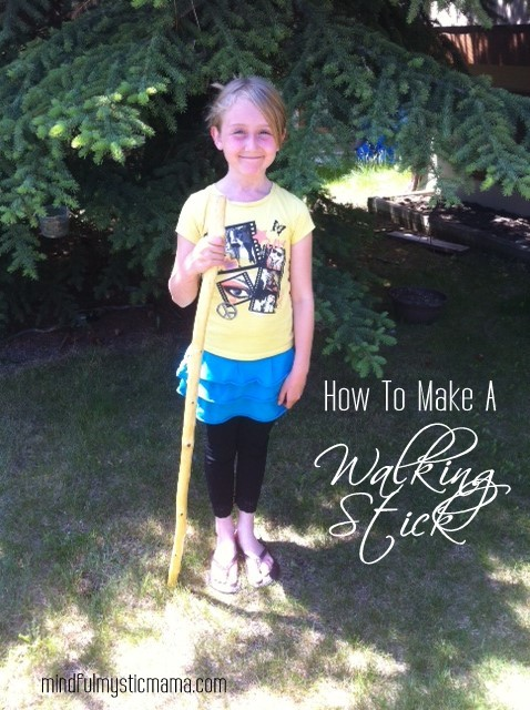 How To Make A Walking Stick