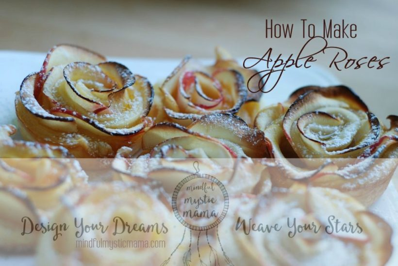 how to make apple roses