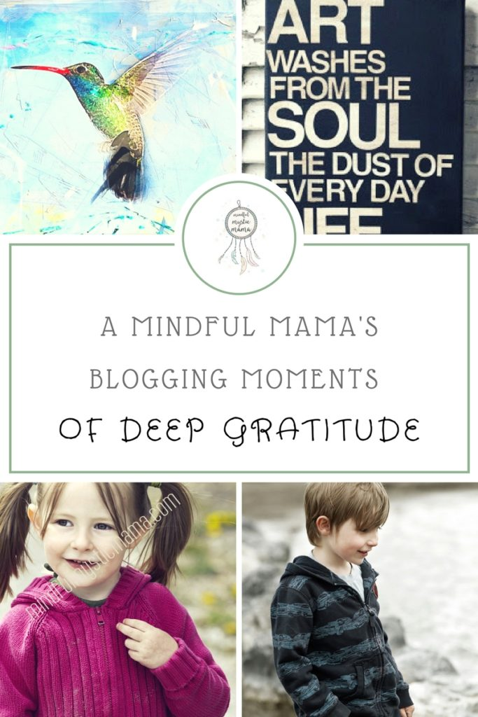 blogging moments gratitude