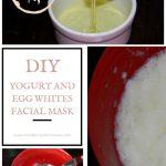 DIY Yogurt And Egg Whites Facial Mask