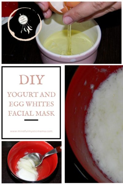 DIY Yogurt And Egg Whites Facial Mask