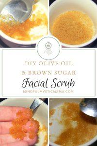 DIY Olive Oil and Brown Sugar Scrub