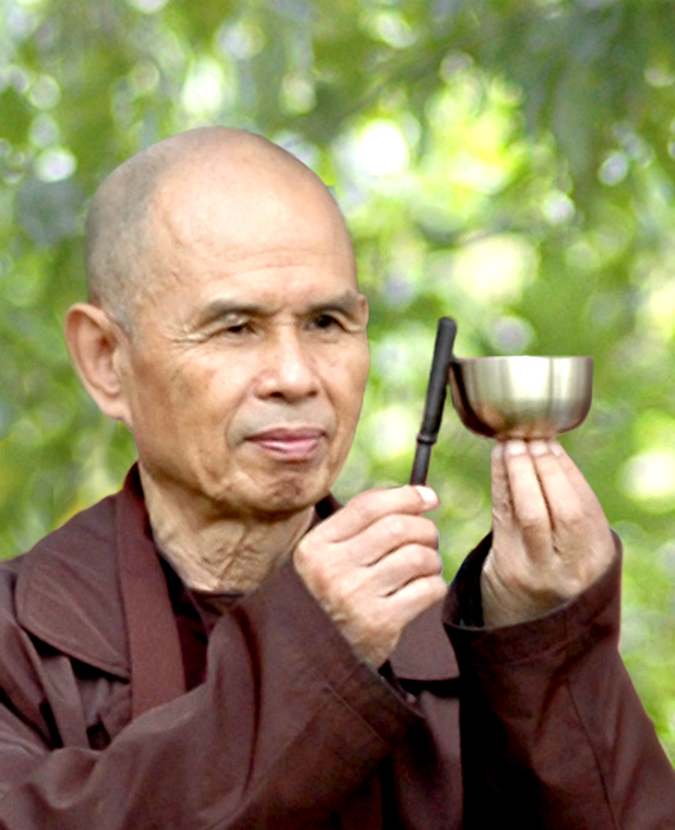In photo: Thich Nhat Hanh