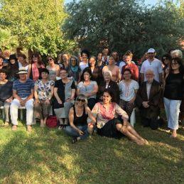 The fall retreat participants