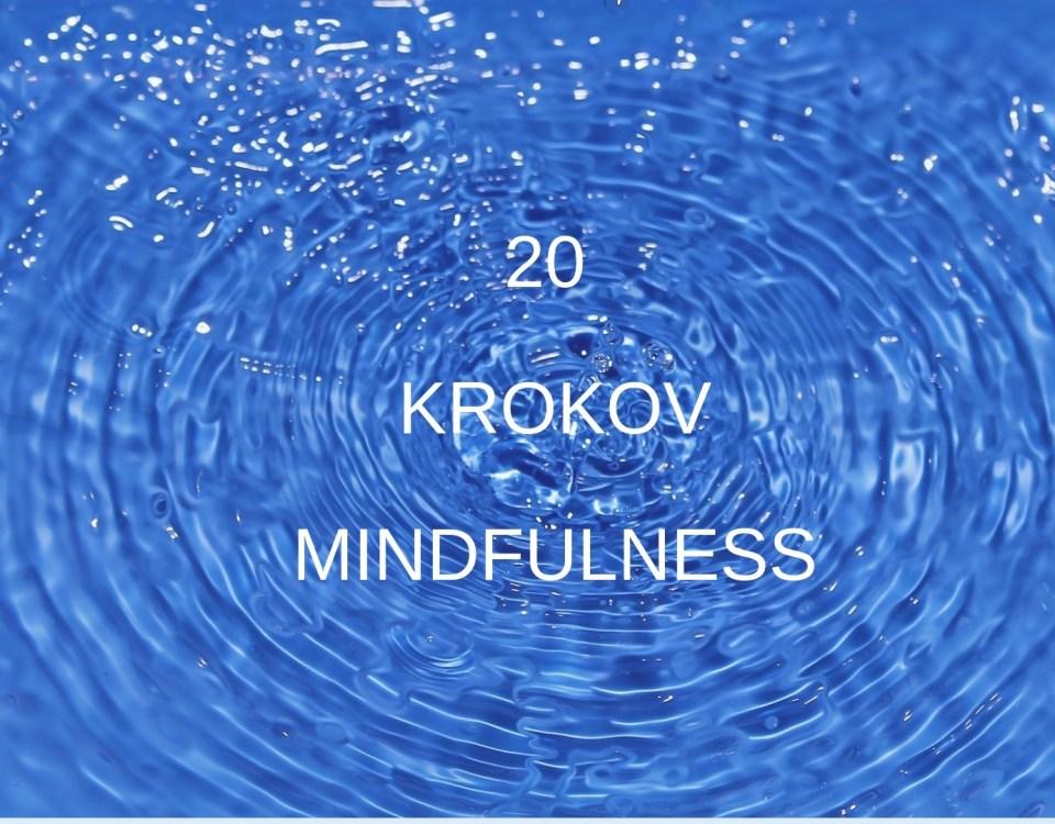 Mindfulness 20 krokov Akadémia pozitívneho života