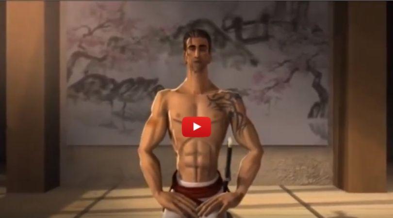video samuraj a mucha