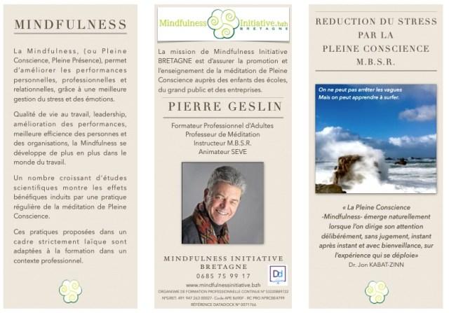 Brochure Mindfulness Initiative BRETAGNE