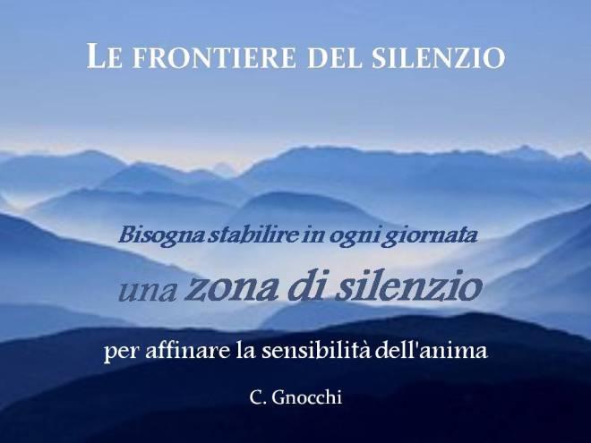 Le frontiere del silenzio