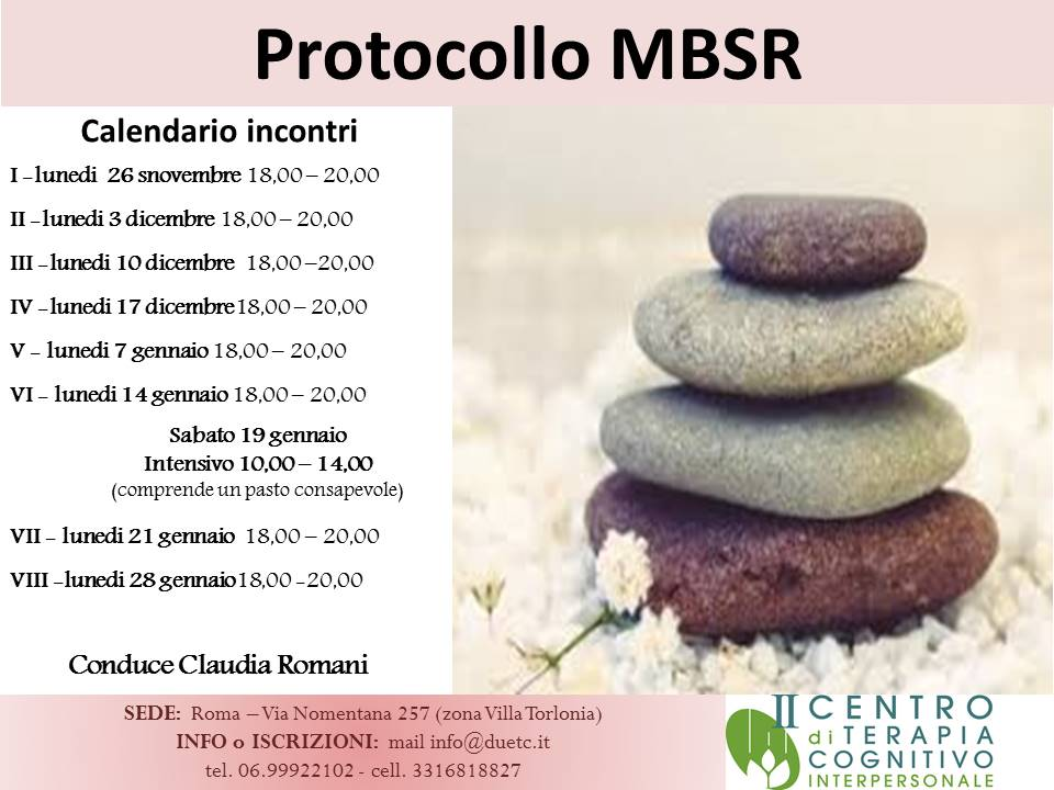 MBSR novembre 2018