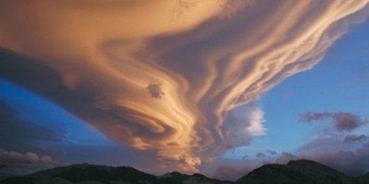 clouds wandering
