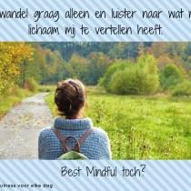 Wat versta jij onder een mindful leven?