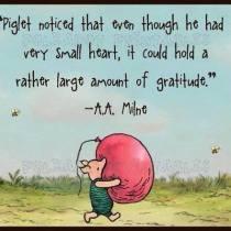 Zo-n klein hartje en zoveel dankbaarheid