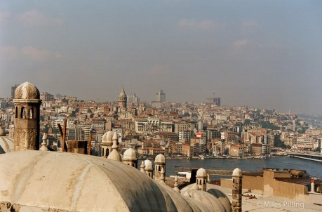 Istanbul cityscape, Turkey, 1992