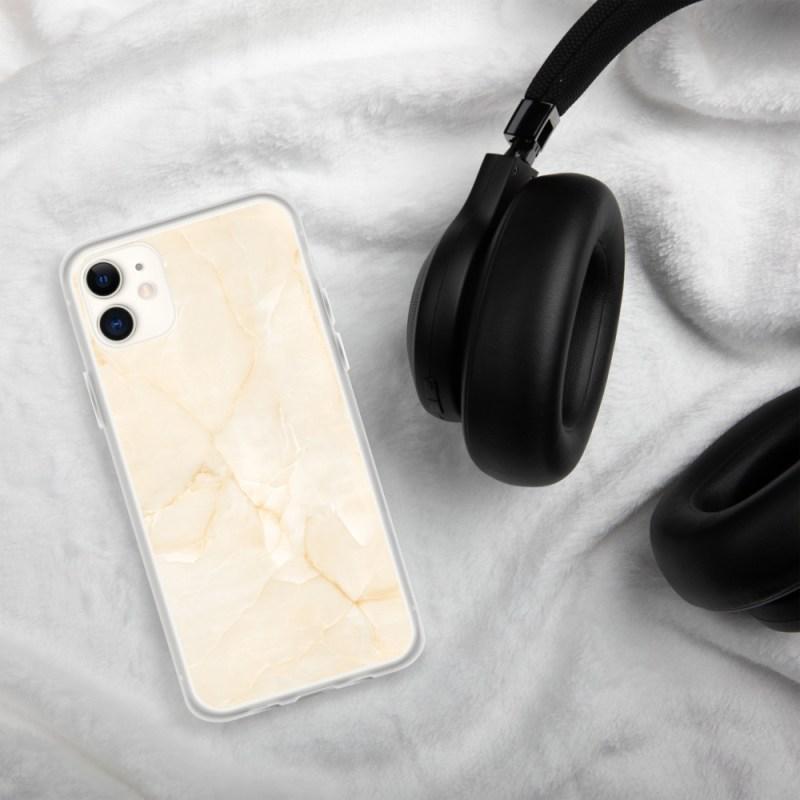 Gele Marmeren iPhone hoesje