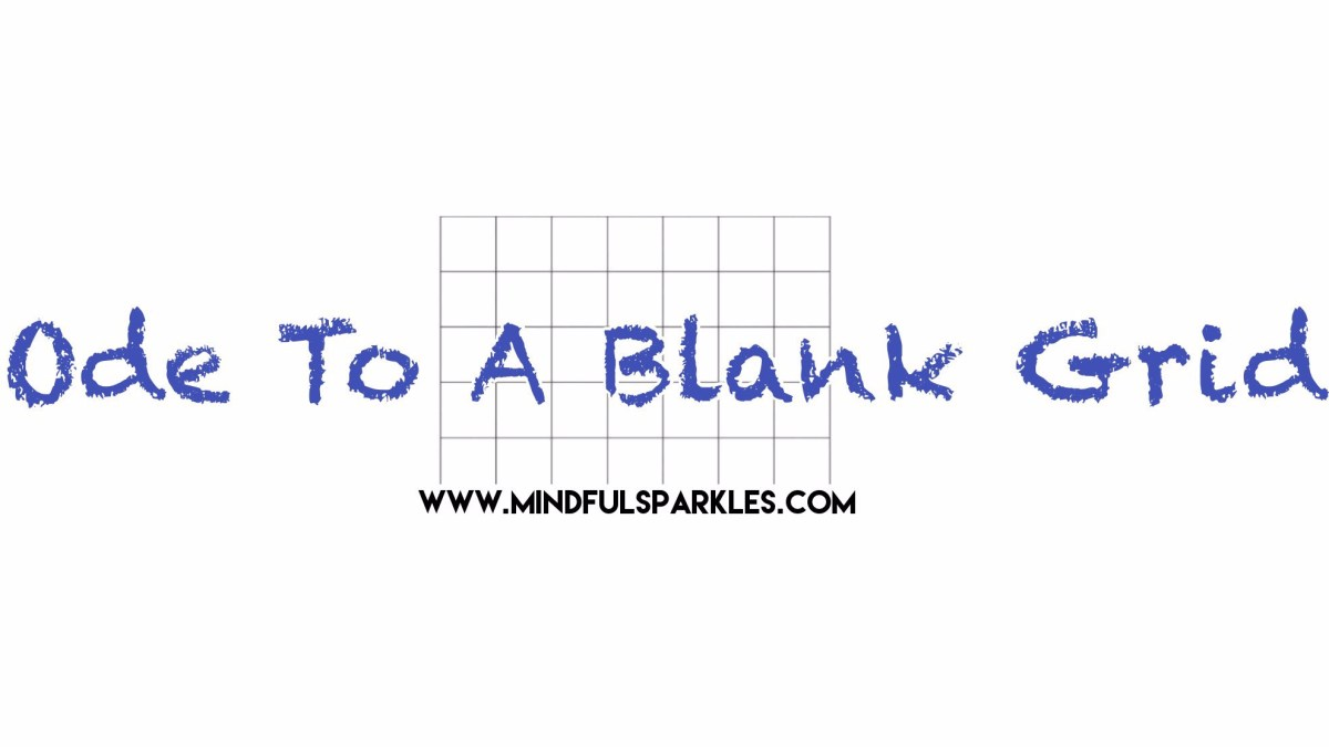 Ode to a Blank Grid:  A Fun & Mindful Way to Track Goals 📊📈📉
