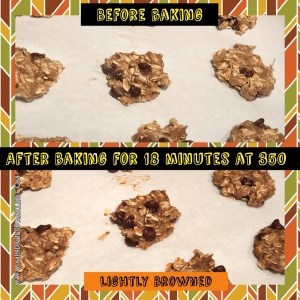 Before and After - Lightly Browned