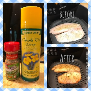 McCormick Garlic & Herb Salt-Free Seasoning & Trader Joe's Canola Oil - Before & After