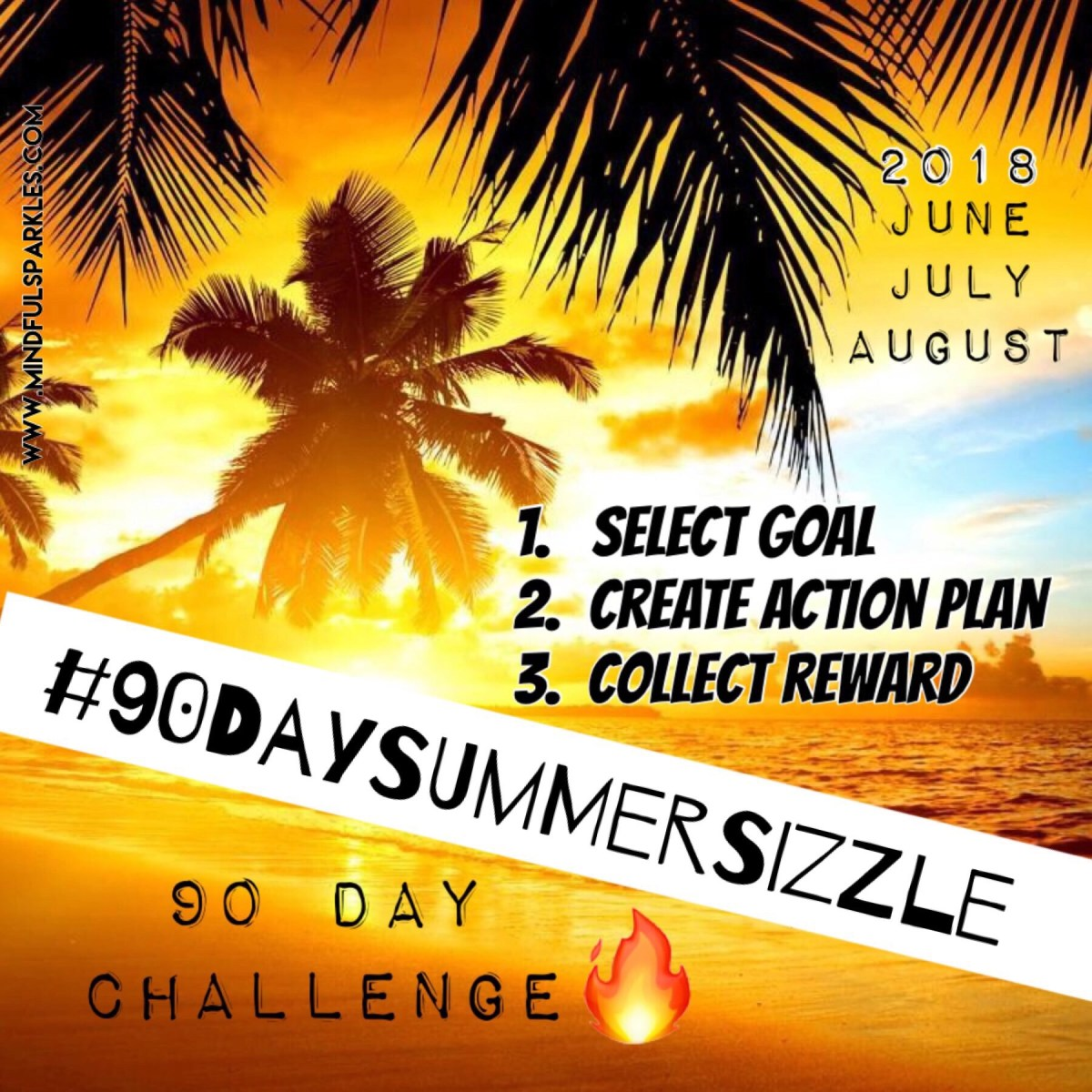 90 Day Summer Sizzle Challenge 🔥🔥🔥