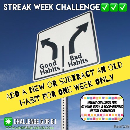 Streak Week Challenge: Weekly Challenge 5 of 61