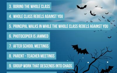 Top 10 Teacher Fears