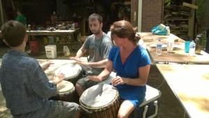 Drum building workshop (2014)