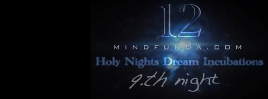 12 holy days - 9th night