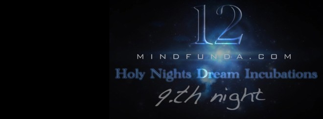 12 holy days - 9th night