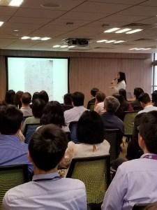 精神科專科醫生陳蔓蕾 - 香港中華煤氣有限公司 - 「在職人士精神壓力」講座 - 圖片2