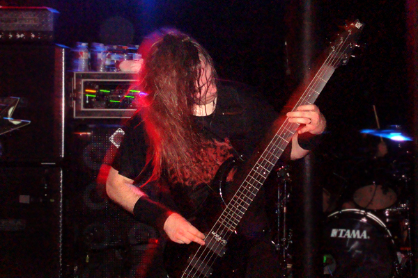 Cannibal Corpse live at Station 4 in St. Paul, MN