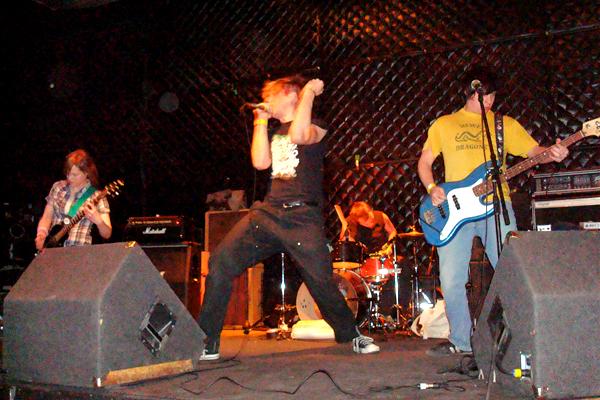 TOTALLY HARSH live @ the Triple Rock Social Club