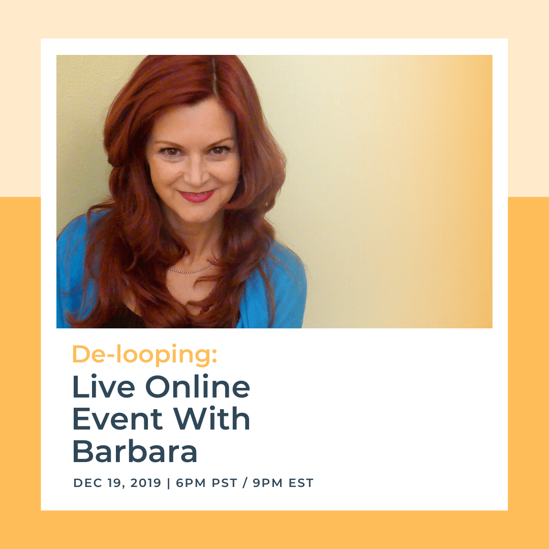 De Looping Live Online Event With Barbara Dec 19th