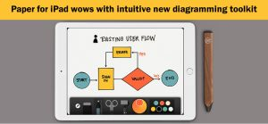 Paper for iPad wows with intuitive diagramming toolkit
