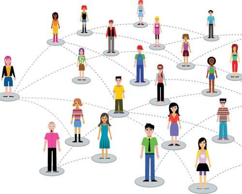 conexão entre pessoas