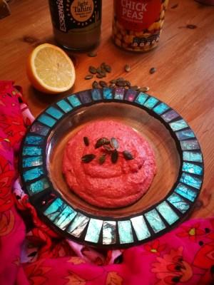 My beetroot hummus recipe