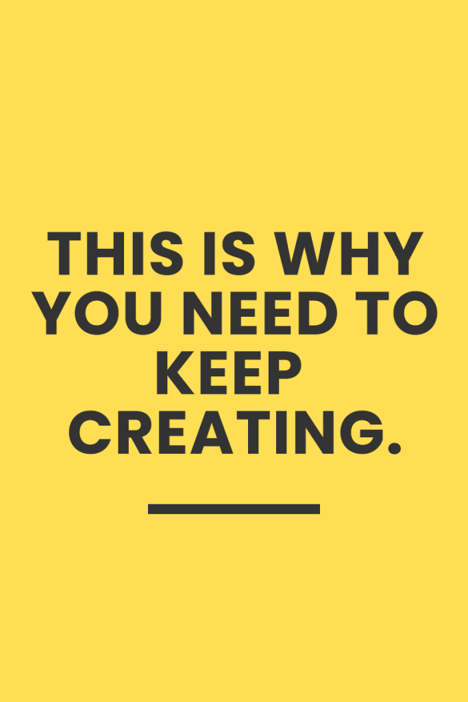 Read up on why #KeepCreating is the movement we should be paying attention to.